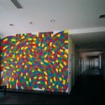 Sol Lewitt - Wall Drawing #1155, 2005 - Padiglione Emodialisi Pistoia